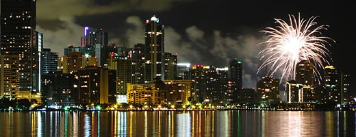 Chic Hotel in Miami for New Year  new year in miami downtown