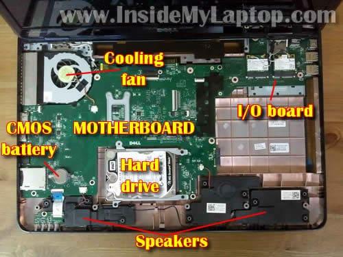 Dell 3000 Motherboard Diagram