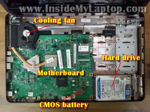 Hp Computer Parts Diagram