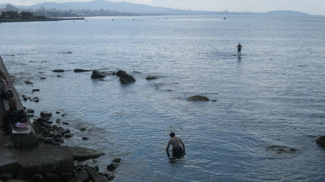 Escape the Istanbul heat - come swimming in the Marmara Sea