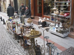 Time to discover hidden treasure in Antqiue St, Kadikoy, Istanbul