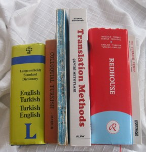 Stay calm and learn Turkish - hit the books!
