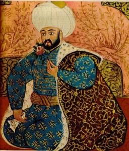 Фатих Султан Мехмет любил природу, особенно цветы.