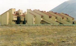 На территории кампуса проживание в г. Кайсери на фоне Хасана Дага