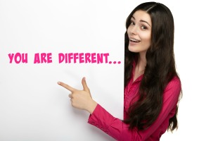 You are differnt pic