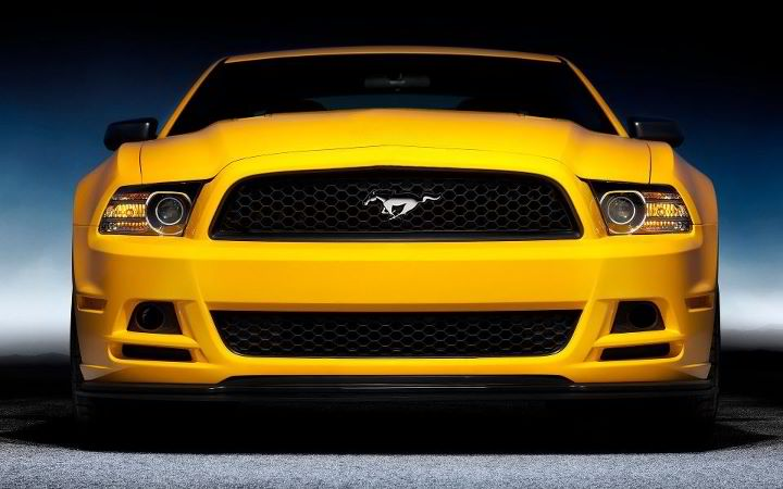 12th Annual Yellow Mustangs Show