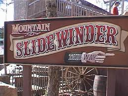 Dollywood's Mountain Slidewinder