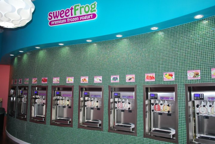 Sweet Frog in Pigeon Forge