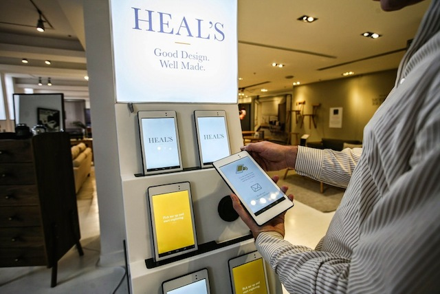 cloudtags, made.com, NFC, retail tech, retail innovations, London retail, retail trends