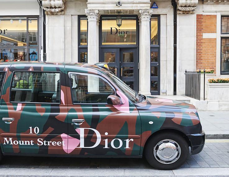 Dior, Dior pop-up, London retail, retail safaris, trend tours, visual merchandising, retail trends,