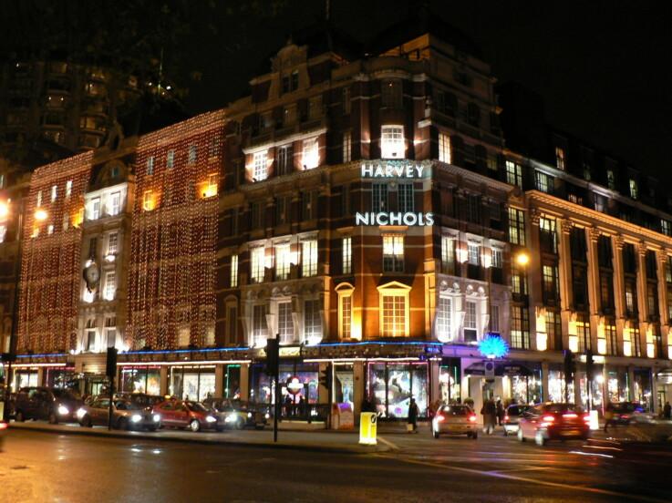 London department store
