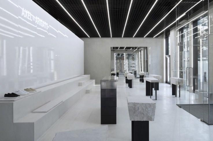 Axel Arigato flagship London interior design