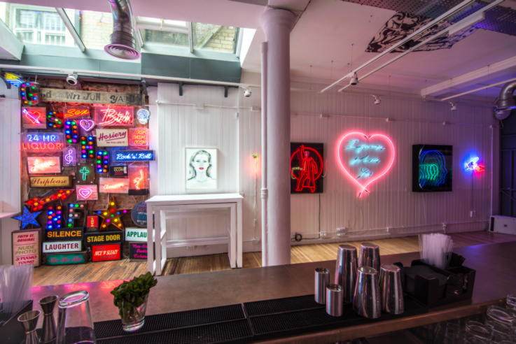LoS London concept store