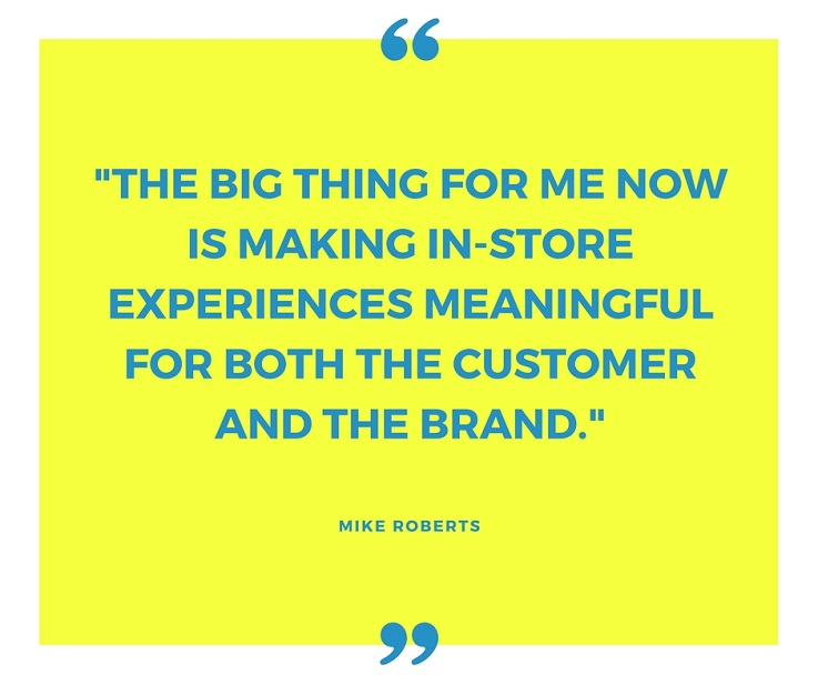Mike Roberts Green Room Design quote retail design