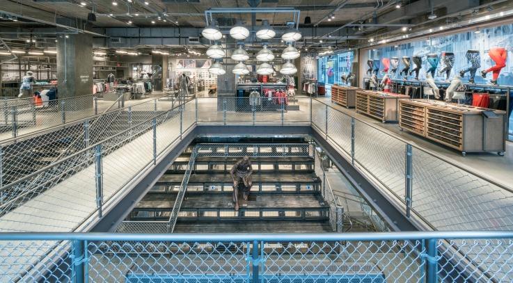Adidas New York flagship store