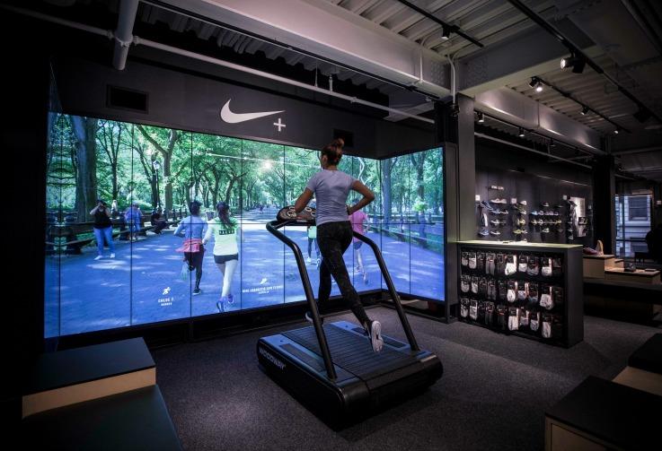 Nike new york flagship store design