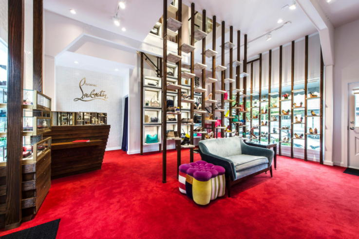 Christian Louboutin-Brick And Mortar Store