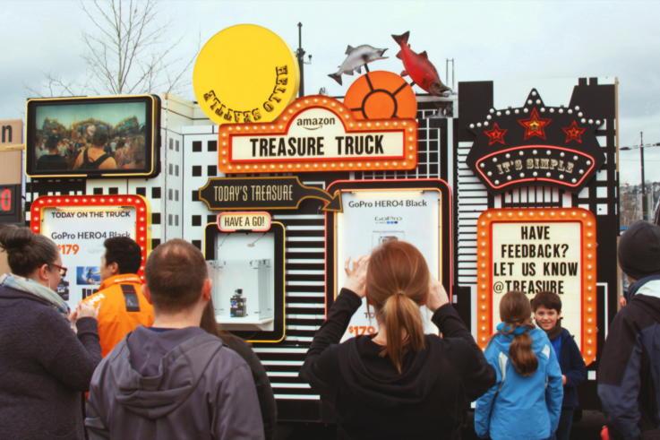 Amazon Treaure Truck-Trends In Retail