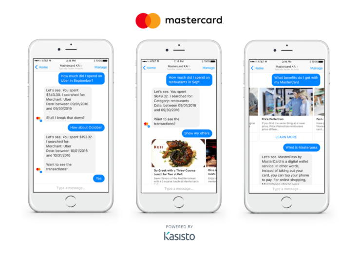 Mastercard bot-Technology Trends