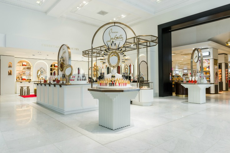 Christian Louboutin Selfridges store design