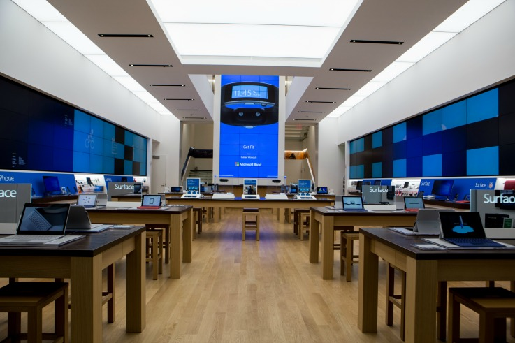 Microsoft New York flagship customer experience