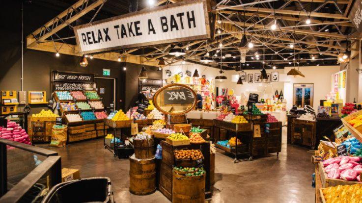 Lush-Interactive Retail