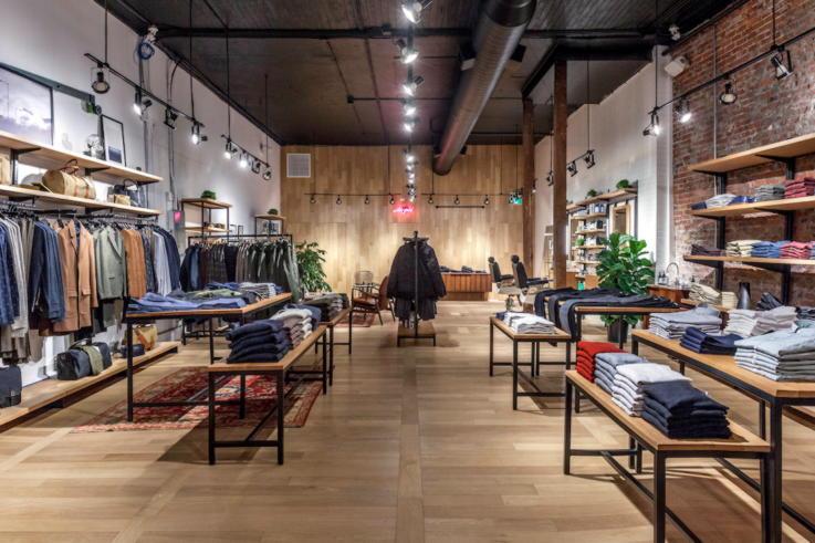 Frank & Oak - Retail Space Design