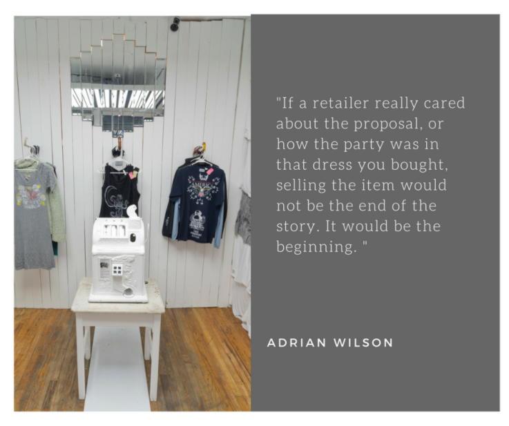 TIR - Adrian Wilson Quote