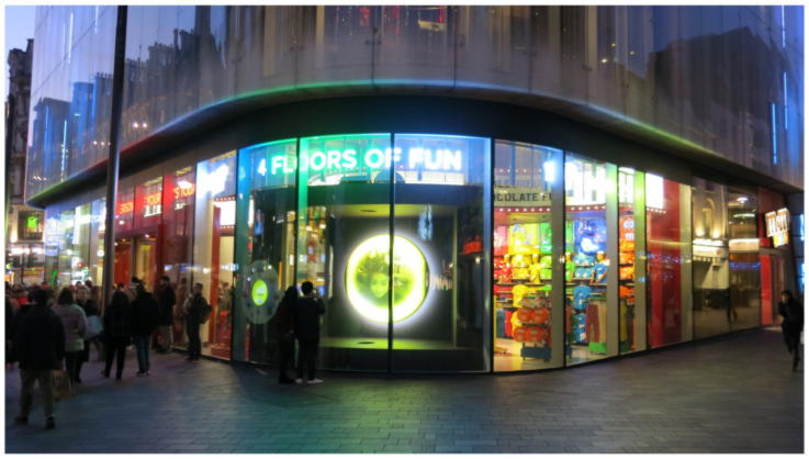 M&M's - Retail Stores