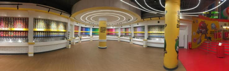 M&M's In-Store Experience-