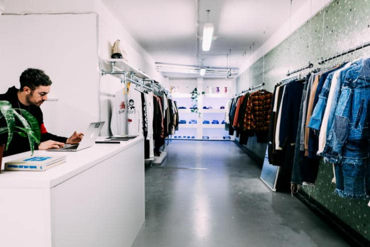 Appear Here - Pop Up Store
