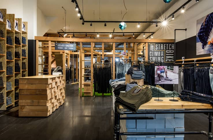 Dish & DUER - Brick and Mortar Retail
