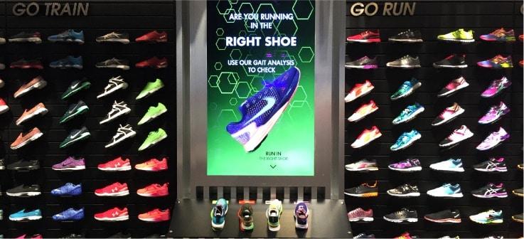 interactive retail displays tech