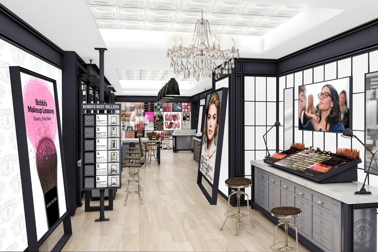 Bobbi Brown Studio physical retail
