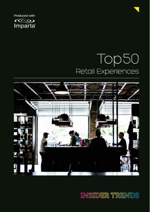 Top 50 Retail Experiences