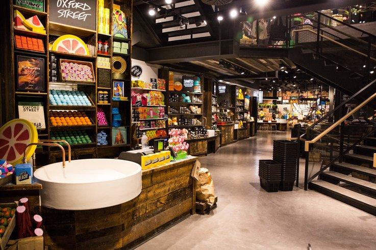 interactive retail brick and mortar store