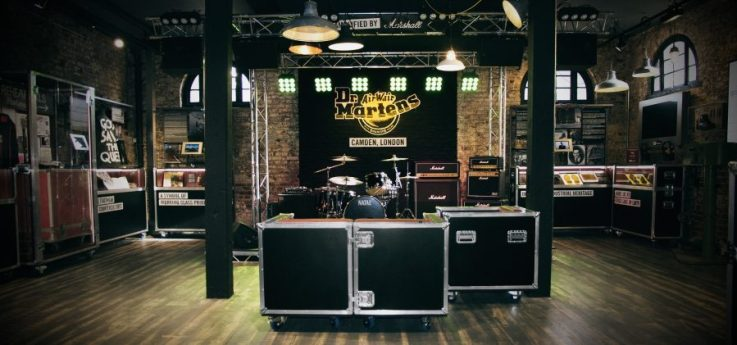 Dr Martens retail experience physical store