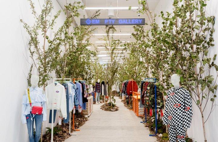 Off-White retail gallery design