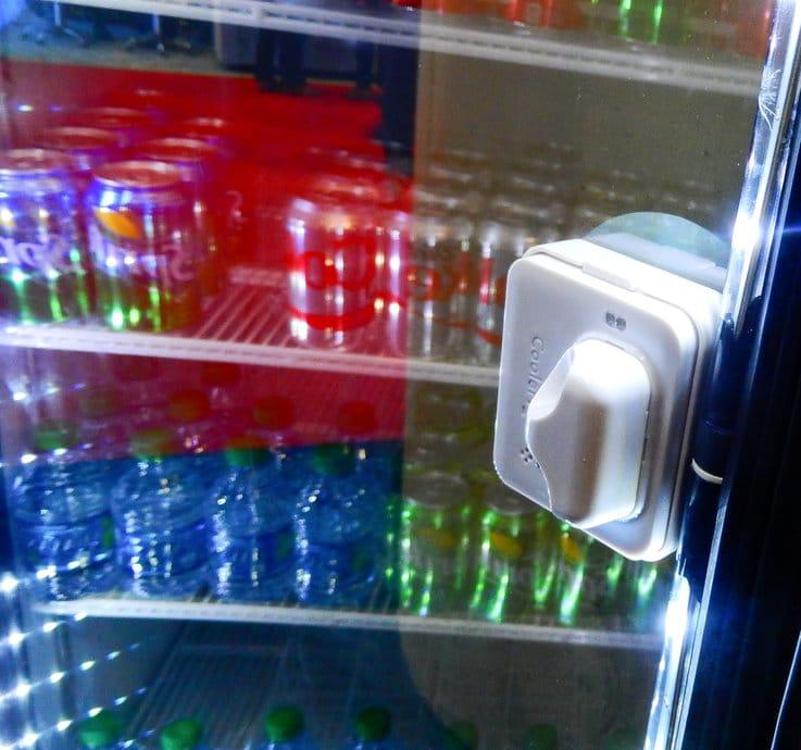 Cooler IoT retail AI