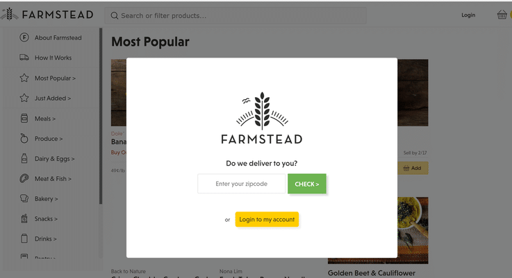 Farmstead grocery retail future of food shopping
