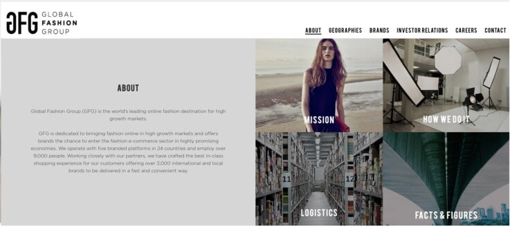 Global Fashion Group - Retail Investment