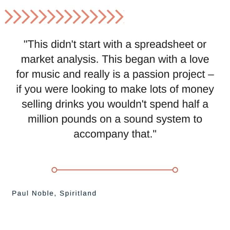 Spiritland - Paul Noble Quote