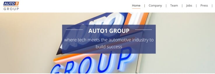AUTO1 Group - ecommerce marketplaces
