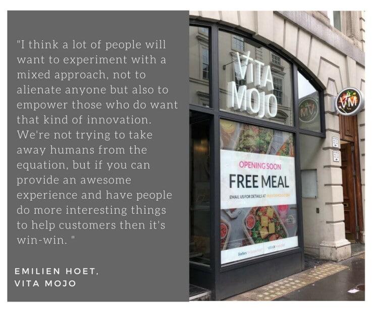 Vita Mojo - Emilien Hoet quote