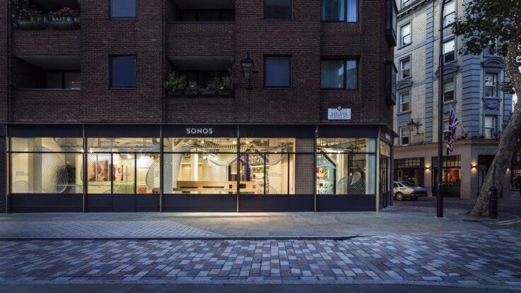 Sonos - Physical Store Design