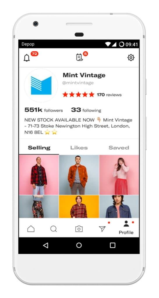 Depop - M-commerce