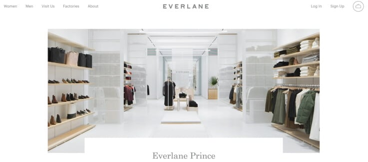 Everlane - Clicks-to-bricks Retail