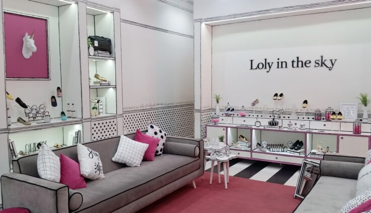 Loly in the sky - Visual Merchandising