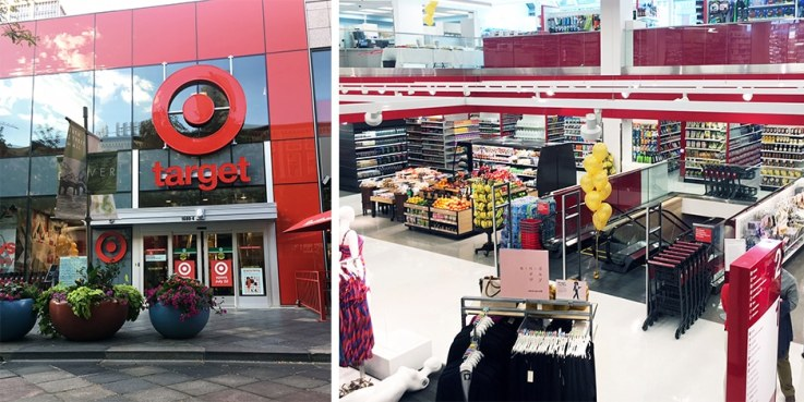 Small-format Target stores