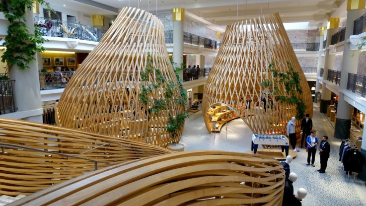 visual merchandising retail space